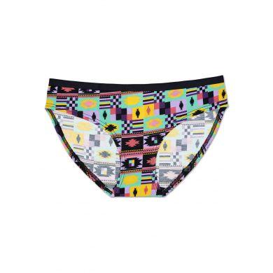 Barevné kalhotky Happy Socks se vzorem Patch Inca