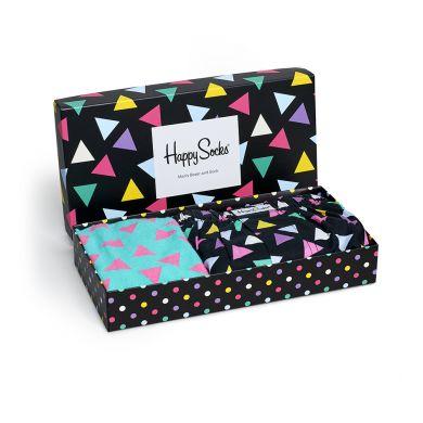 Dárková krabička Happy Socks Triangle, pánská (trenýrky)