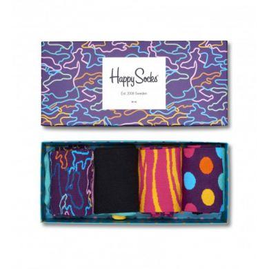 Darčekový box ponožiek Happy Socks Electric - 4 páry