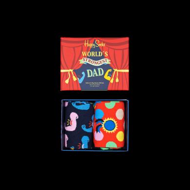 Darčekový box ponožiek Happy Socks Father´s Day - 2 páry