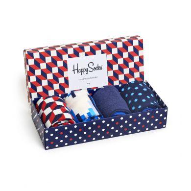 Darčekový box ponožiek Happy Socks Optical - 4 páry