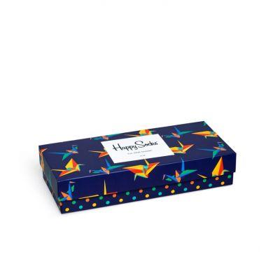 Darčekový box ponožiek Happy Socks Combo Origami - 4 páry