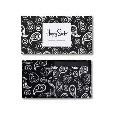 Darčekový box ponožiek a nohavičiek Happy Socks Black & White - 2 páry