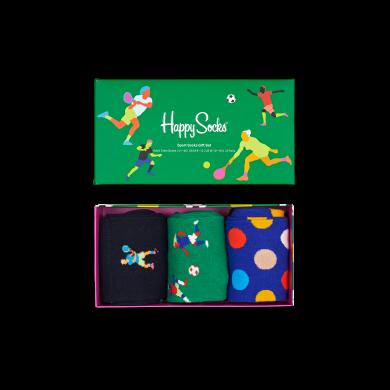 Darčekový box ponožiek Happy Socks Sports - 3 páry
