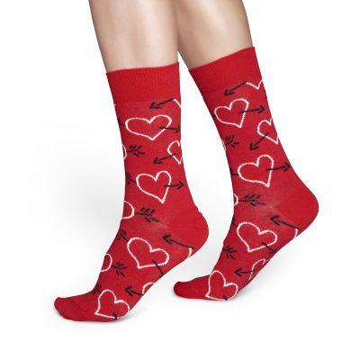 Darčekový box ponožiek Happy Socks Valentine - 3 páry