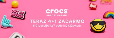 Jibbitz™ - 4+1 zadarmo