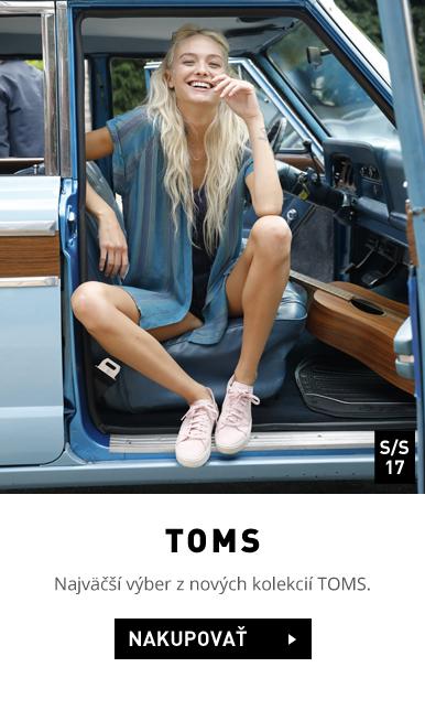 Kvalitná obuv značky TOMS k dispozícii v našom e-shope.