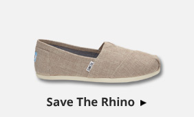 Bestsellery TOMS Save The Rhino Alpargatas
