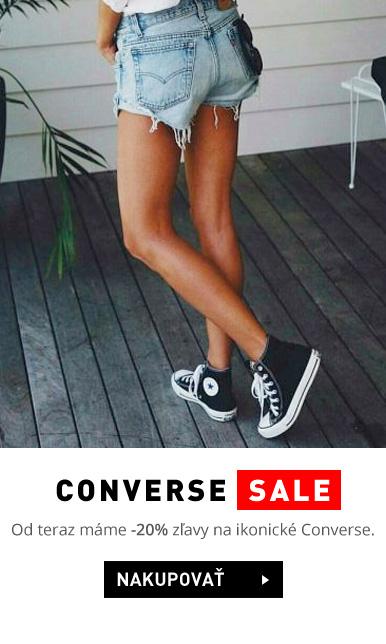 Kvalitná obuv značky Converse k dispozícii v našom e-shope.