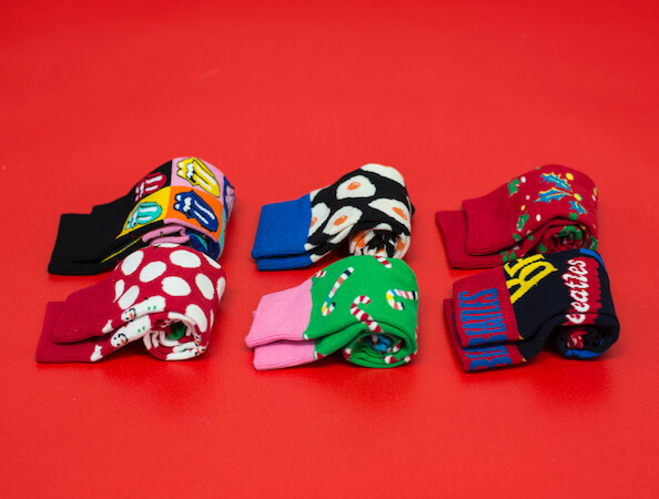 Urbanlux Vánoce - Ponožky Happy Socks
