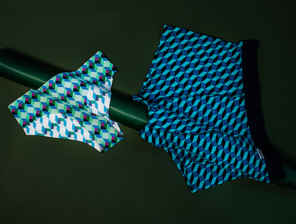 Urbanlux Vánoce - Spodní prádlo Happy Socks
